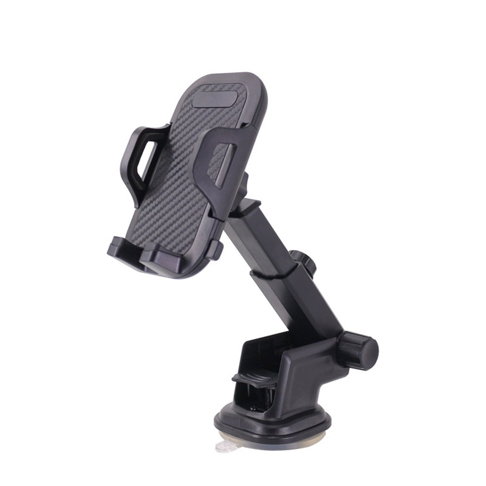 Phone Mount, Adjustable Dashboard & Windshield Car Phone Holder with Telescoping Long Arm and Suction Cap for iPhone Galaxy Google LG Huawei and Most Smartphone(4-6inch