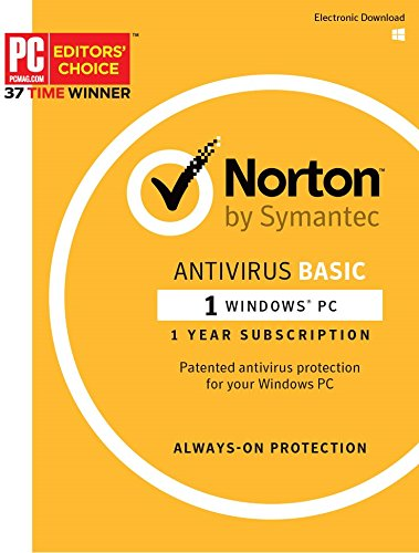 Symantec Norton AntiVirus Basic PC