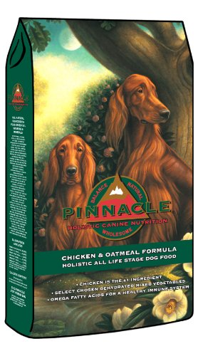 Pinnacle Holistic Chicken And Oatmeal Formula Dog Food, 30-Pound