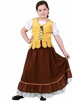 Disfraz de Mesonera Medieval para niña: Amazon.es: Juguetes y juegos