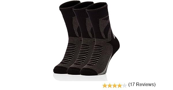 Ladeheid Hombre 3 Pares Felpa Calcetines Deportivos 259V2 (Negro/Melange Oscuro, 38/40): Amazon.es: Ropa y accesorios