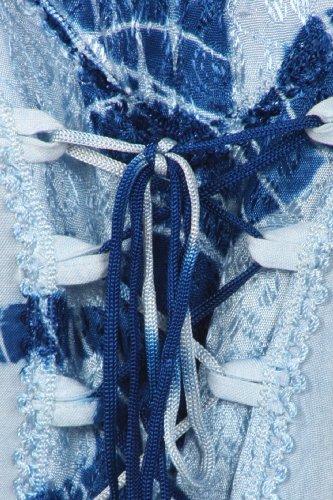 Sakkas corsage Bleu Annabella Hem Dress Handkerchief corset wpUwrxfaq