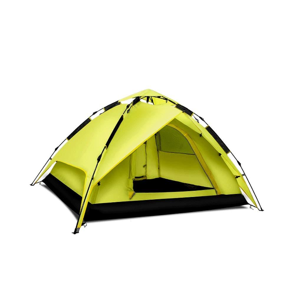 SPORETE Tienda de cúpula para Acampar 3-4 Personas, instantánea, 130 cm de Altura, Vacaciones, automática, fácil de Montar, Tienda multifunción para Exteriores, Juego de Dos Capas oportuno