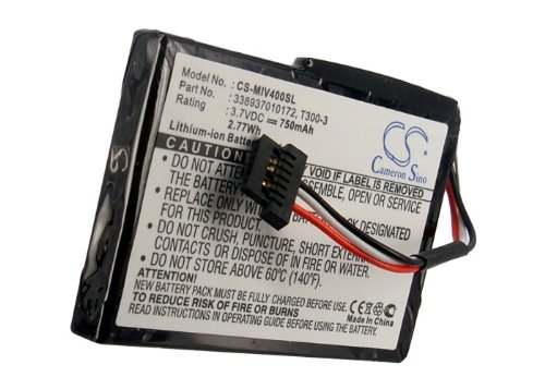New Cameron Sino CS-MIV400SL 750mAh Li-ion Battery for Mio Moov 400 405