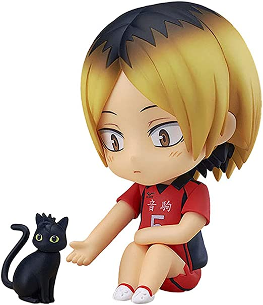 Futurao Haikyuu Kenma Kozume Nendoroid Action Figure Anime Cartoon Game Character Dolls Model Statue Toy Desktop Decoration Fans Collections Gifts