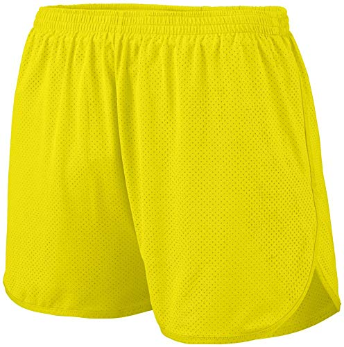 Augusta Sportswear Men's Solid Split Short 3XL Power Yellow ()
