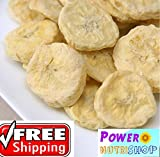 1 LB 100% Organic Freeze Dried Banana Slices ,NO Preservatives,NO sweetener