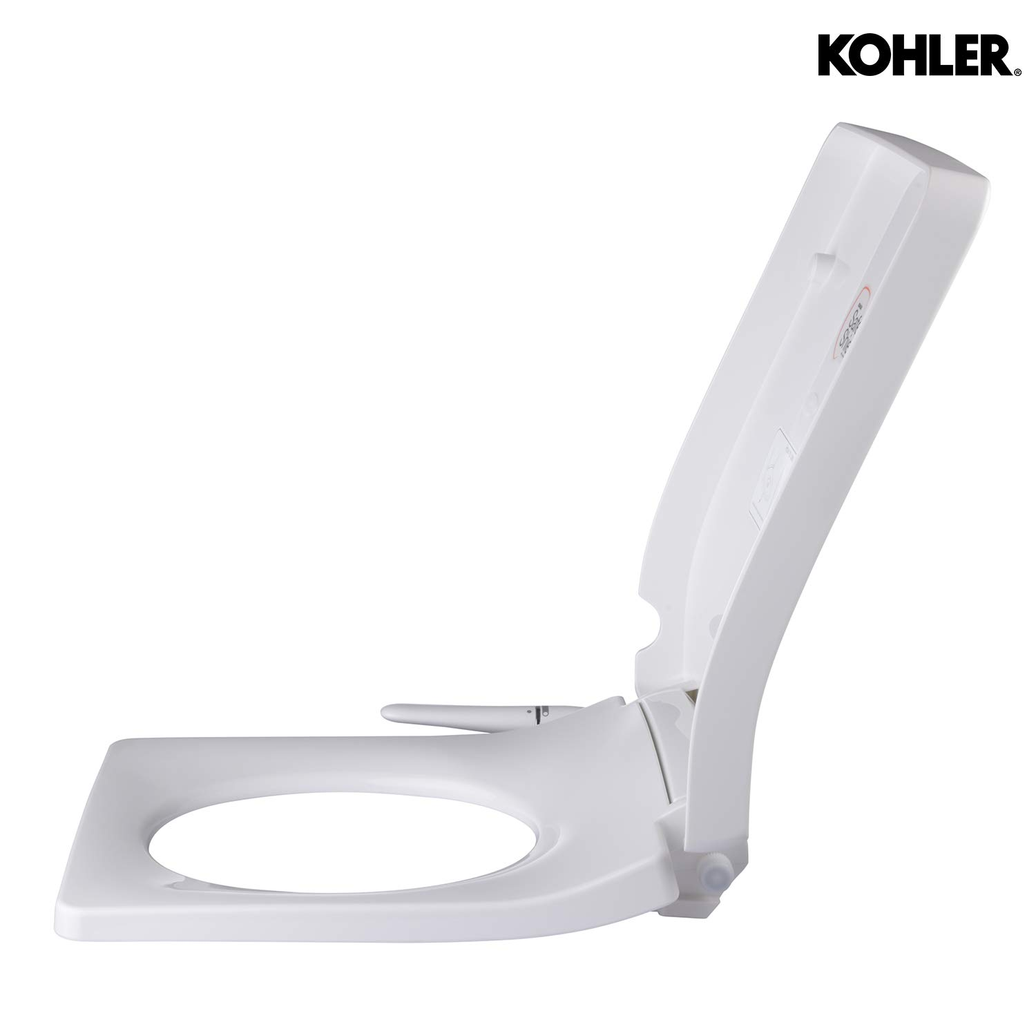 Magnificent Kohler Pureclean Forefront Bidet Toilet Seat With Self Cleaning Nozzle Retractable Wand Front And Rear Wash Water Pressure Control Through Pabps2019 Chair Design Images Pabps2019Com