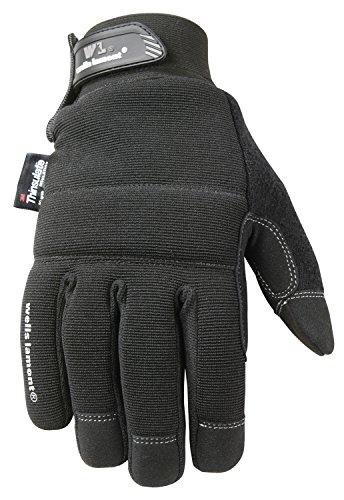 Black Winter Gloves, TouchScreen, 80-gram Thinsulate Insulation, Fleece-Lined, X-Large (Wells Lamont 7760XL) free shipping