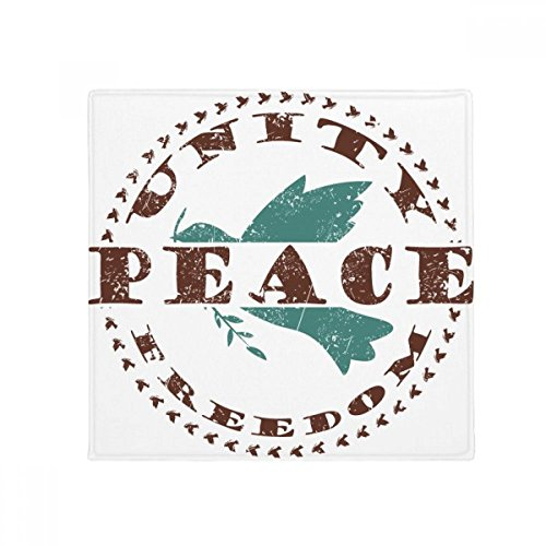 Olive Branch Peace Freedom Symbol Anti-slip Floor Pet Mat Square Home Kitchen Door 80cm (Olive Branch Peace)