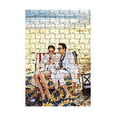 Custom Photo Jigsaw Puzzle 300 Pieces - Personalized Photo Puzzle Family Photo Wedding Photos Mother's Day DIY Gift Father's Day Home Gifts Funny Gifts for Kids 16in X 11in: Toys & Games