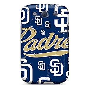 Great Hard Cell-phone Cases For Samsung Galaxy S3 (uxm4015ugDE) Provide Private Custom Fashion San Diego Padres Series