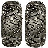 Pair of GBC Dirt Tamer (6ply) ATV Tires [27x9-12] (2)