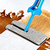 YLCOYO Double Sided Non Hand Washing Flat Mop Wooden Floor Mop Dust Push Mop Home Cleaning Tools