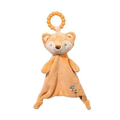 Douglas Baby Fox Teether Soft Plush Toy: Toys & Games