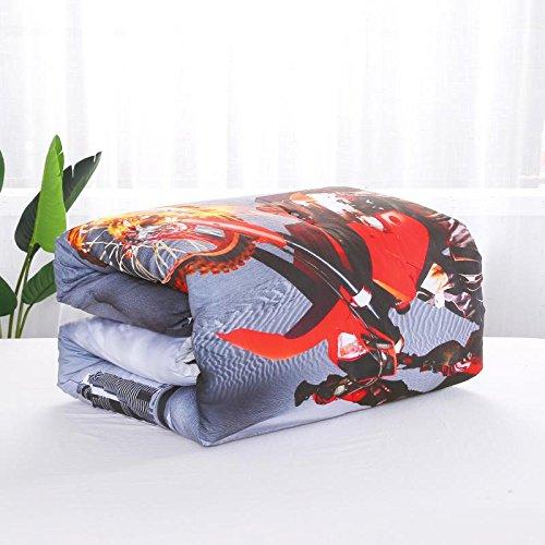 AMOR AMORE 3D Racing Motorcycle Comforters