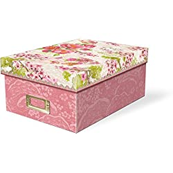 Punch Studio Chinoiserie Garden Photo Storage Box