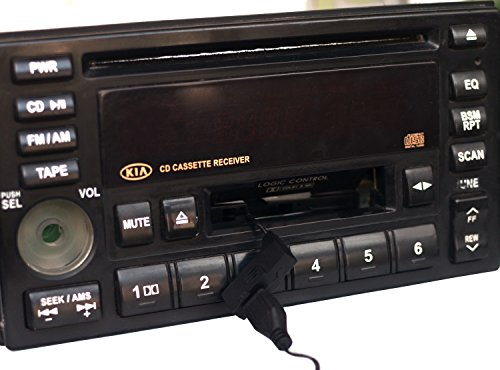 Car Bluetooth Audio Cassette Adapter/Bluetooth Music Receiver for Cassette Decks Work While Charging by B&W Pattern (Image #7)