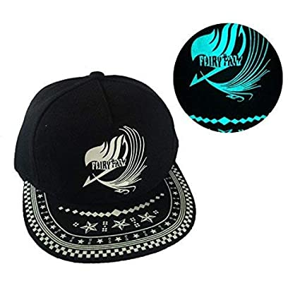 Buy Glow in Dark Anime Fairy Tail Logo Baseball Sport Gorras Snapback Cap  Hats - Adult Size Online at Low Prices in India - Amazon.in bed0f9c8fb8