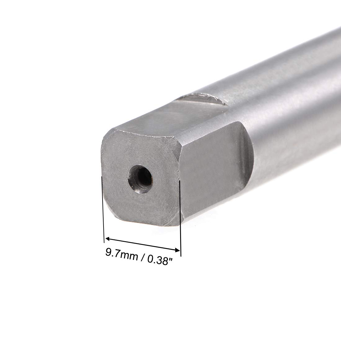 uxcell Metric Machine Tap Left M12 Thread 1.5 Pitch H2 4 Flutes High Speed Steel