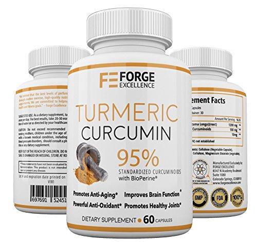 Turmeric Curcumin BioPerine Joint Relief product image