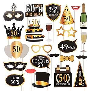 Sombrero de fiesta de cumpleaños, 50 años, 1 unidad, fiesta ...