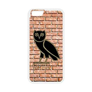 Drake Ovo Owl iPhone 6 4.7 Inch Cell Phone Case White as a gift E4491582