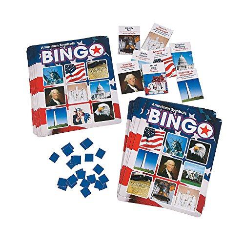 American Symbols Premium Bingo