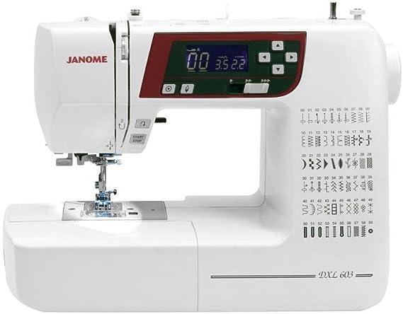 Janome DXL603 - Máquina de coser: Amazon.es: Hogar