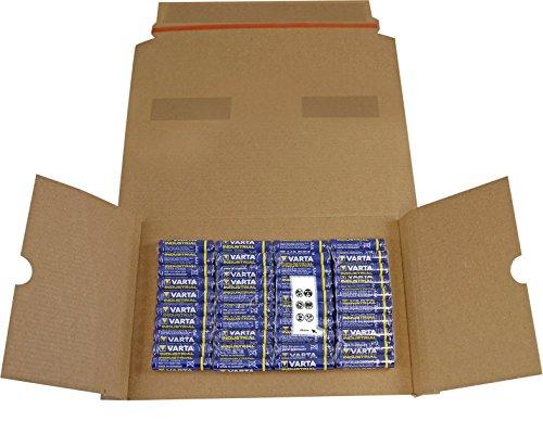 Varta Batterien Micro AAA LR03 Made in Germany Vorratspack 40 Stück in umweltschonender Verpackung