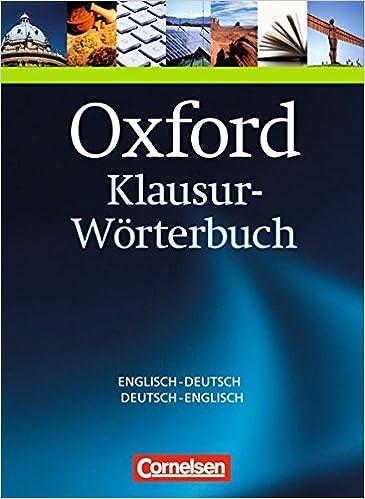 f2437f5bff Oxford-Klausur-Wörterbuch: Englisch-Deutsch, Deutsch-Englisch: Amazon.de:  Bücher
