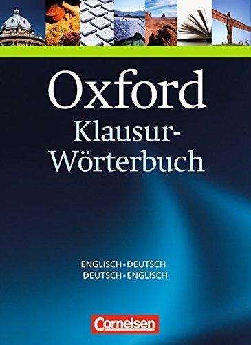 Oxford-Klausur-Wörterbuch: Englisch-Deutsch, Deutsch-Englisch