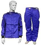 Racerdirect RJS Racing SFI 3.2A/1 Elite FIRE Suit Race Jacket & Pants Blue Size Adult XL