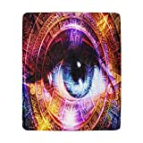"""InterestPrint Ultra-Soft Micro Fleece Blanket 50"""" X 60""""  Type: One-side Printing, 100% Polyester, 50""""(W) x 60""""(L)   26.46 Oz. Personalized and stylish blanket.   Easy to clean, machine washable and dries quickly.   The blanket with soft and comfortab..."""