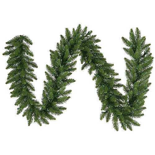 (Vickerman Unlit Camdon Fir Garland, 9-Feet,)