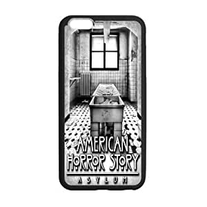 Custom Black and White American Horror Story Phone Case Laser Technology for iPhone 6 Plus Designed by HnW Accessories