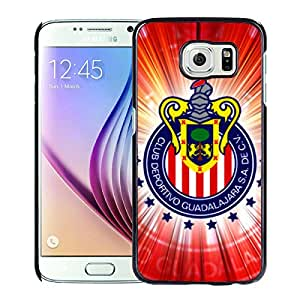 Fashion And Antiskid Cover Case For Samsung Galaxy S6 With Chivas Black Phone Case 1