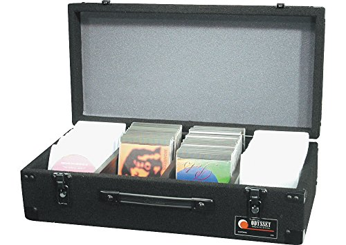 Odyssey CCD300E Carpeted Cd Case With Surface Mount Hardware For 300 View Packs Or 100 Jewel Cases