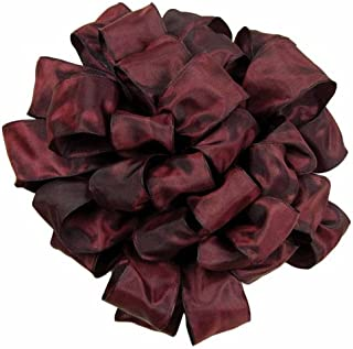 product image for Offray Gelato Wired Edge Ribbon, 5/8-Inch by 25-Yard, Red/Plum