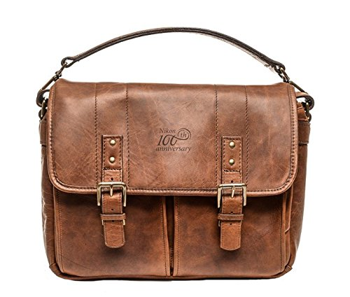 Nikon 100th Anniversary Bag Premium Leather Bag (Brown) Limited Edition