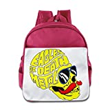 XJBD Custom Superb Eagles Of Death Metal Boys And Girls School Bag For 1-6 Years Old Pink