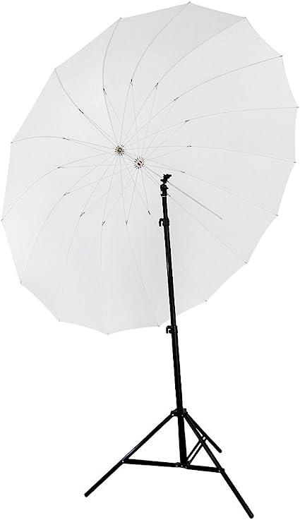 2 x 45 Black//White Reflective Photo Studio Umbrella 10 Panels Fiberglass Ribs