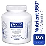 Pure Encapsulations – Nutrient 950 with Vitamin K – Vitamin Mineral Formula for Optimal Health* – 180 Capsules