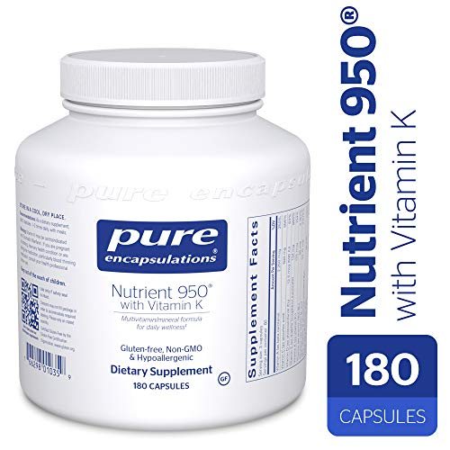 Pure Encapsulations - Nutrient 950 with Vitamin