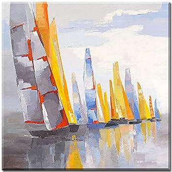 Maritime Bilder helios leinwandbild laurence mauviel grösse 50 cm x 50 cm