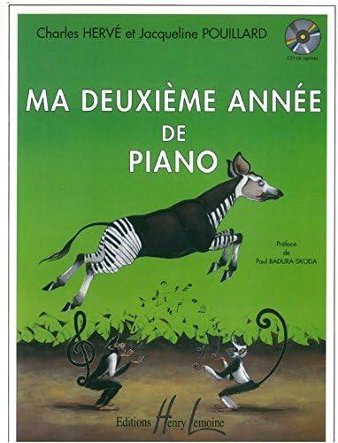 Charles Hervé: Ma Deuxième Année De Piano - Partituras