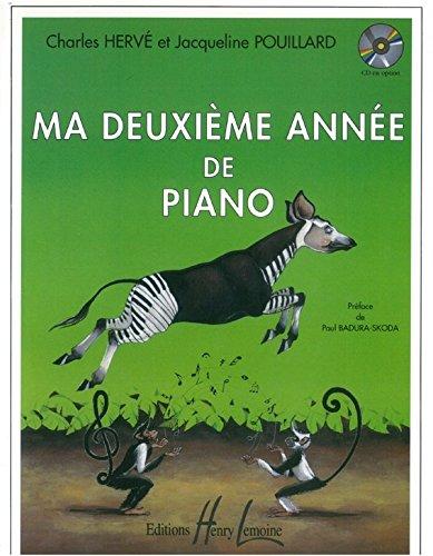 Charles Hervé : Ma 2Ème Année De Piano - Partitions