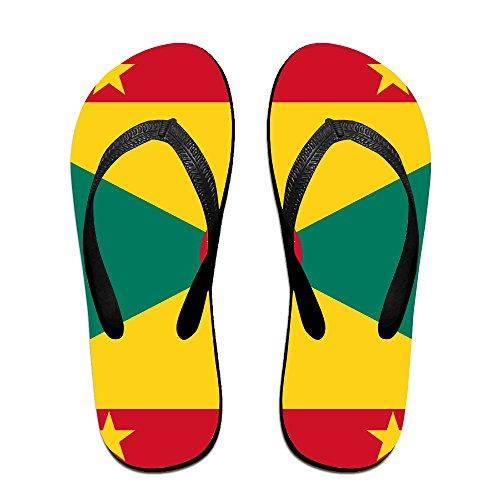 d87930661 cheap Flag Of Grenada Unisex Fashion Beach Sandals Classical Flip Flops  Thong Sandals