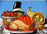 : Melissa And Doug Melissa & Doug Jigsaw Puzzle -Thanksgiving Dinner