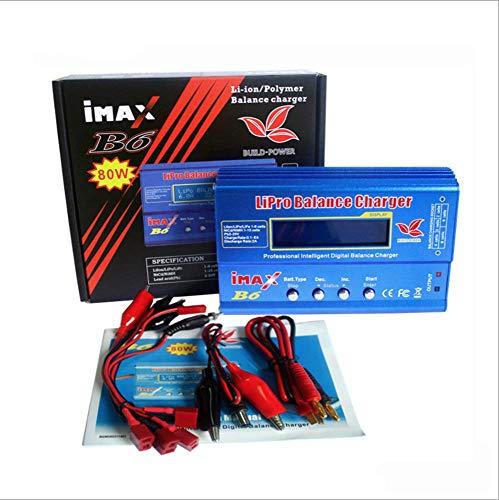 iMAX B6 Lipo NiMh Li-ion Ni-Cd RC Battery Balance Digital Charger Discharger (Lipo Battery Charger)